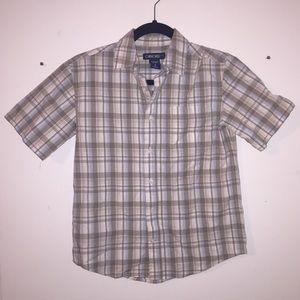 Cherokee Plaid Button Up Short Sleeve